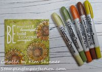 Stamping Imperfection Distress Crayons