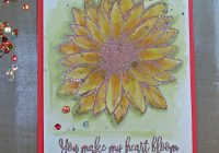 Stamping Imperfection Gina K Stamps and Distress Crayon Techniques