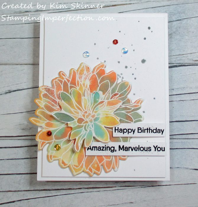 Stamping IMperfection Beautiful Blooms MFT