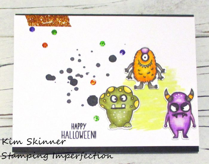Stamping Imperfection Monster Bash