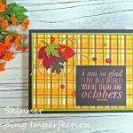 Stretch Your Craft Stash: Create A Plaid Background With Markers