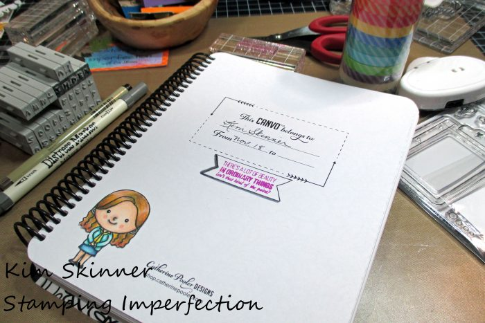 Stamping Imperfection Canvo Journal