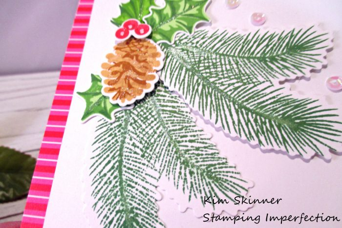 Stamping Imperfection Christmas Trimmings