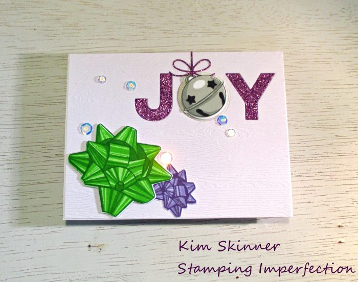 Stamping Imperfection Bells and Bows