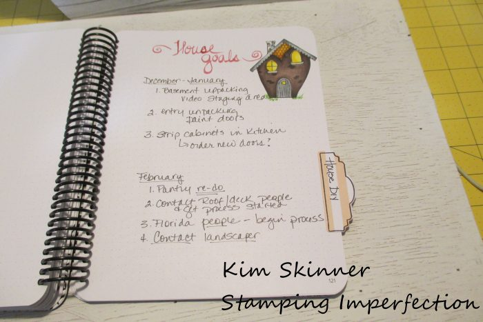 Stamping Imperfection Canvo Bullet Journaling