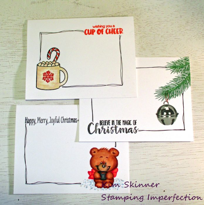 Stamping Imperfection Clean and Simple Christmas