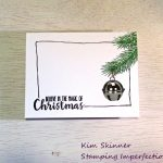 Less Is More:  Clean And Simple Christmas Cards