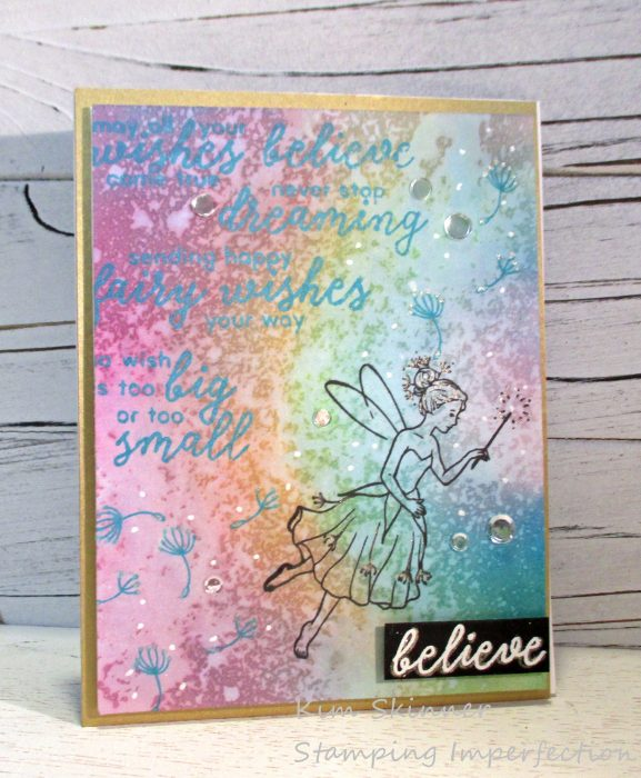 Stamping Imperfection December 2018 My Monthly Hero