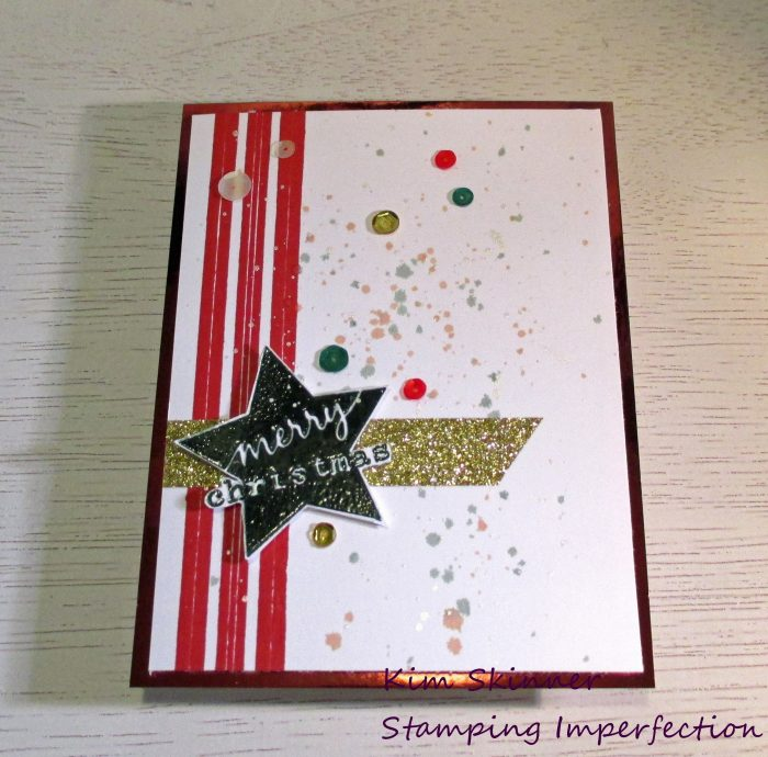 Stamping Imperfection Classic Christmas