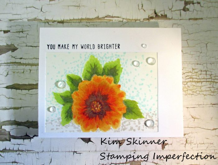 Stamping Imperfection No Line Coloring Altenew Artist Markers