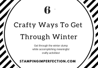 6 crafty winter activities