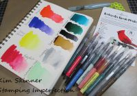 Stamping Imperfection Winter Wonderland Watercolor Brushes from Altenew