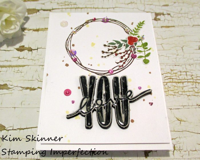 Stamping Imperfection Ink Splatter