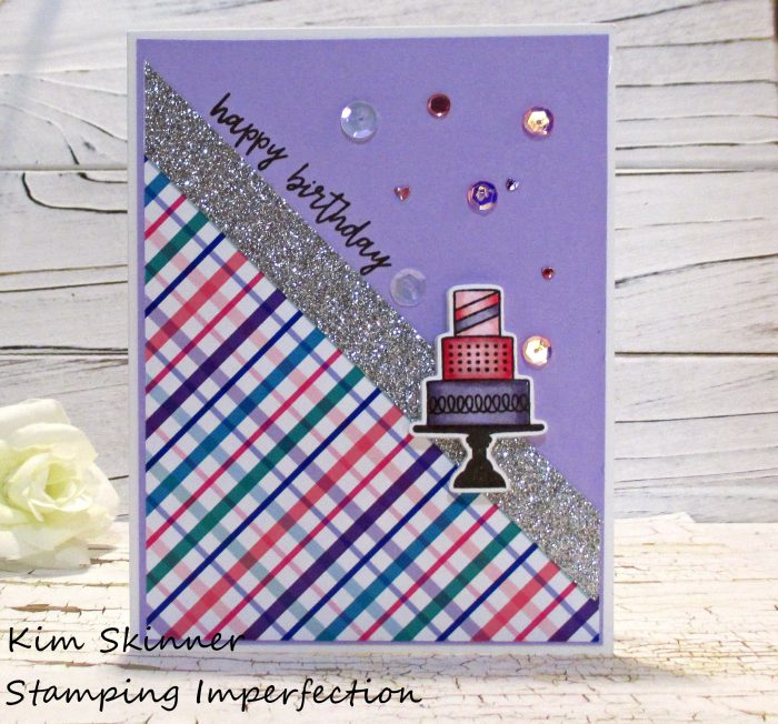 Stamping Imperfection Quick Birthday Card Catherine Pooler Products