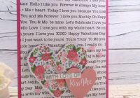 Stamping Imperfection Quick Card with Premade Die Cuts