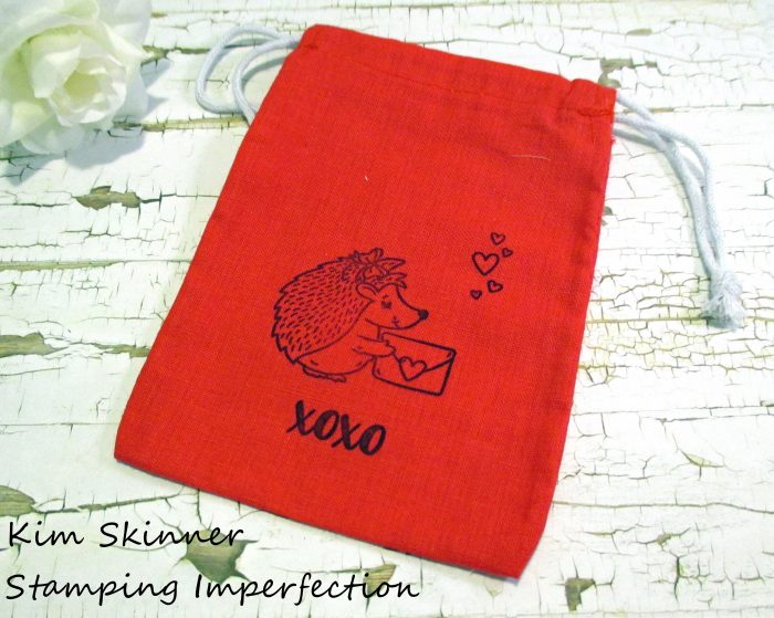 Stamping Imperfection Quick and Easy Reusable Stamped Gift Bags