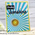 Sending Sunshine With  A Distress Crayon Technique