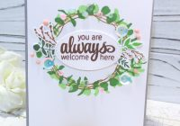 Clean and Simple Welcome Home Card