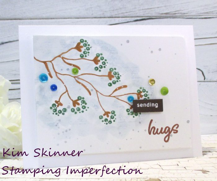 Clean and Simple All Occasion Card Stamping Imperfection