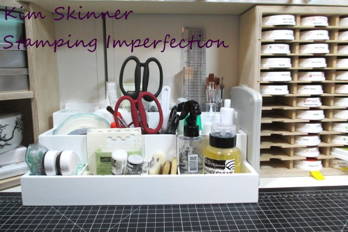 Die Stamp and Supply Organizer, organizing craft tools