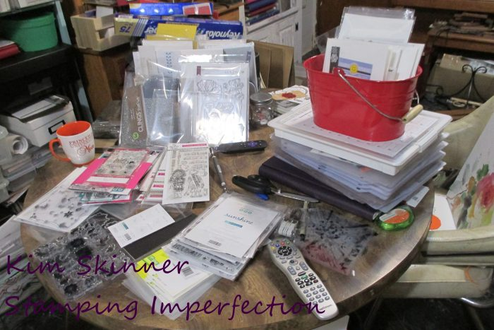 Stamping Imperfection Craft Room Organization Where To Start