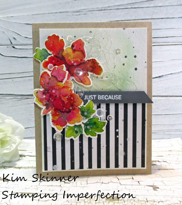 Stamping Imperfection No Line Watercoloring