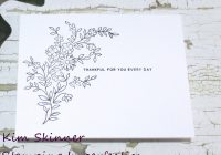 Single Layer Clean and Simple Beginner Card