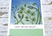 hand drawn card details + zentangle