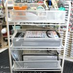 Craft Room Organization: Journaling Supplies and Stamp Storage Supplies