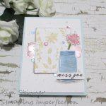 Garden Silhouette In Mixed Media Pastels