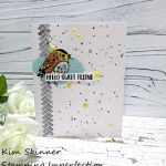 Catherine Pooler Fluttering Friends Clean and Simple Card