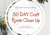 30 day craft room clean up day 3