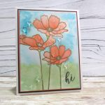 Flowers In Bloom Card Kit With Color Burst Trio Technique