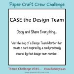 Paper Craft Crew Challenge: Case the Designer
