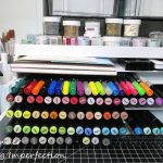 30 Day Organizing Challenge: Marker, Ink Pad, And Embossing Powder Storage