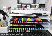 Organizing Altenew Markers in Totally Tiffany XL Pen and Ink Palace