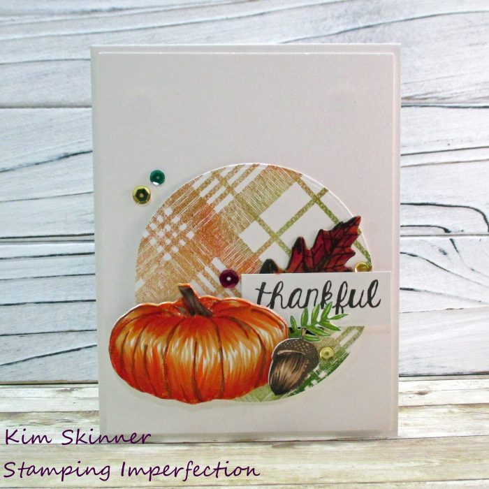 Concord & 9th fall inspired card