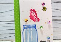 Sweet Vintage Jar from Sunny Studio Stamps