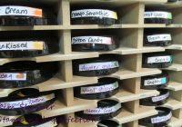 Craft Room Organization: Ink Pads