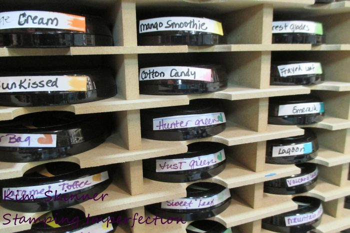 Craft Room Organization: Ink Pads