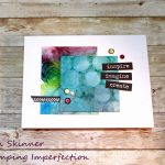 Alcohol Ink Backgrounds With Altenew Marker Re-Inkers