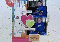 scrap your stash scrapbook layout