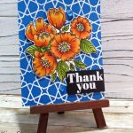 Simon Says Thankful Flower With Alcohol Markers