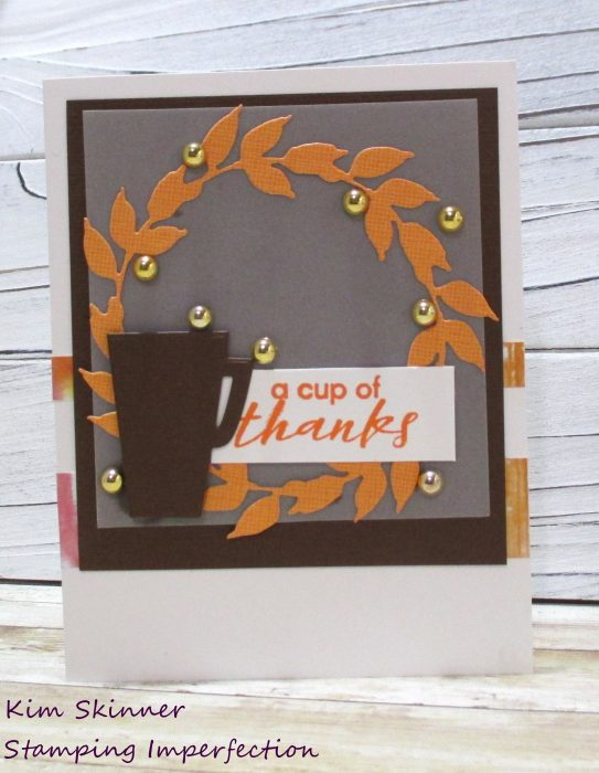 Quick Card with Die Cuts and Scraps