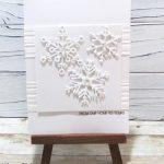 Create A Quick Monochrome Snowflake Card