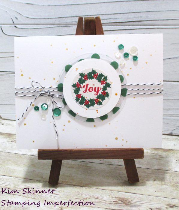 Merry Christmas CAS Card