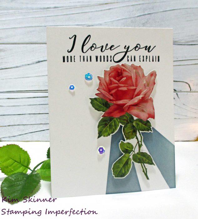 CAS romance card kim skinner