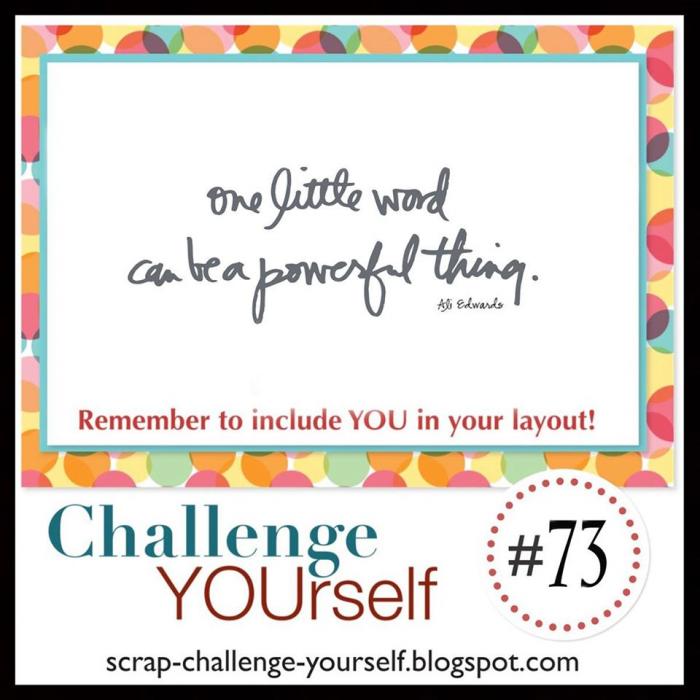Challenge Yourself January Scrap Challenge