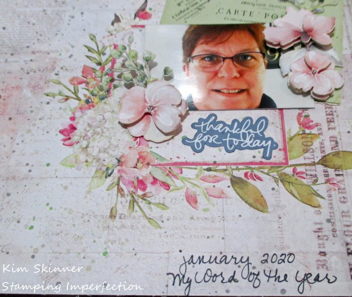 49 and Market Scrapbook Layout Kim Skinner