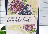 Sunlit Flowers With Altenew Inks Kim Skinner